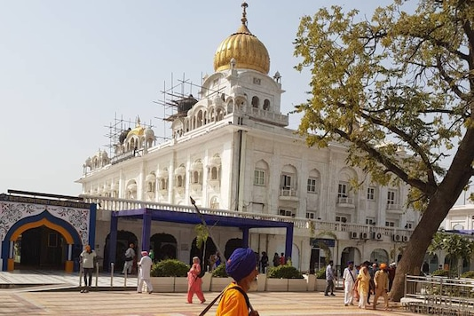 Bangla Sahib in Delhi. (Image: Uday Singh Rana)
