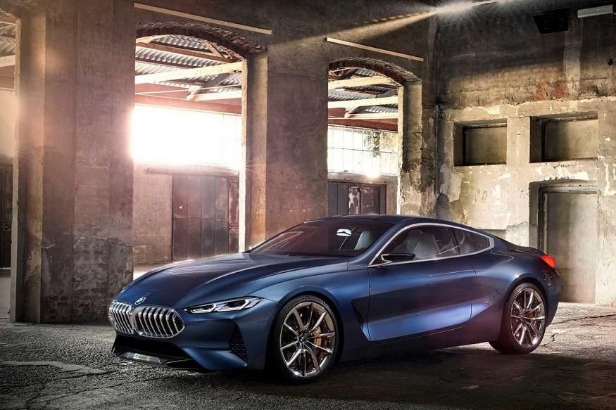 BMW 8-Series Concept. (Photo: BMW)