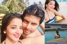 Monalisa and Vikrant Are In Goa For A Lavish Beach Honeymoon