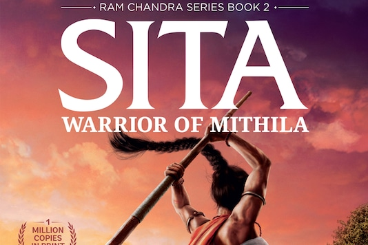 Image courtesy: Book cover of Sita: Warrior of Mithila