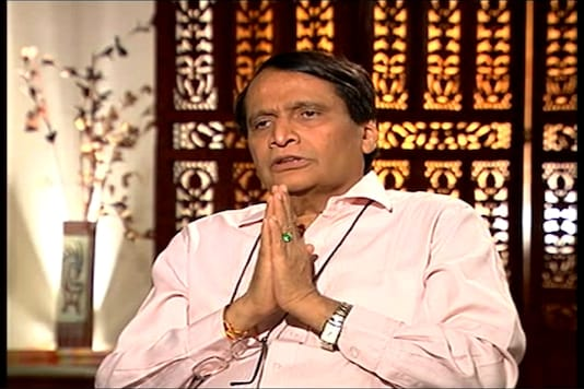 File photo of  Union commerce and industry minister Suresh Prabhu.