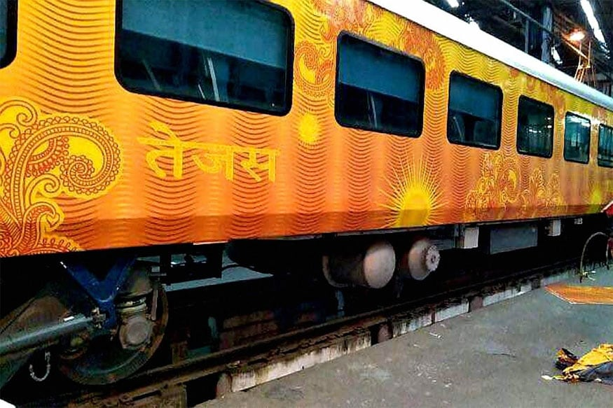 Tejas Express with Coffee Machine, LED TV, WiFi Takes to