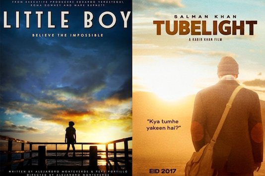 Official posters of Little Boy and Tubelight.