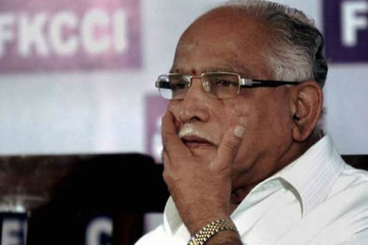 File photo of Karnataka CM B S Yediyurappa.