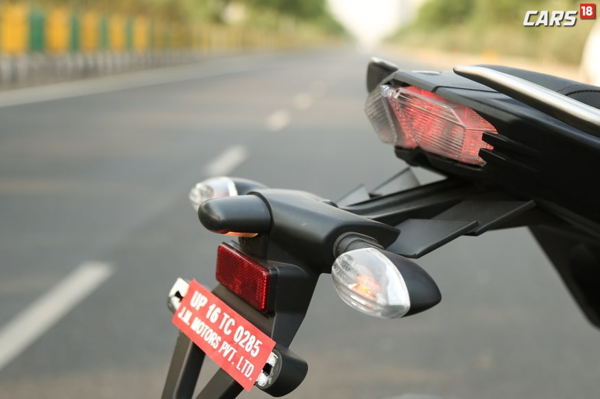 Yamaha FZ25 Tail Lamp.  (Image: Siddharth Safya/News18.com)