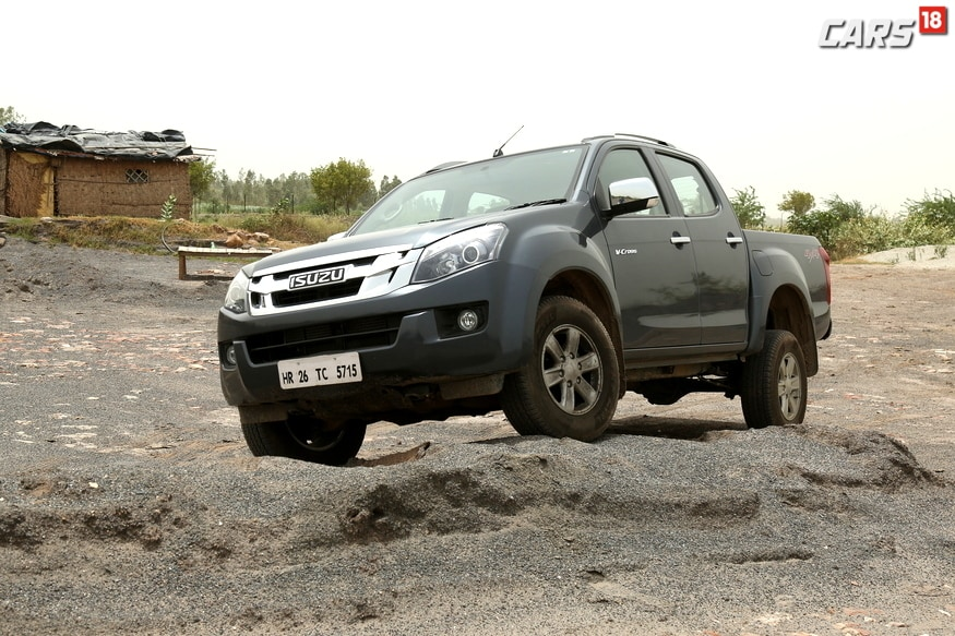 Isuzu D-Max V-Cross is the only Adventure Utility Vehicle in India. (Image: Sidharth Safaya/News18.com)