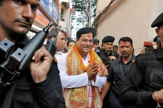 File Photo of  Sarbananda Sonowal (Image: PTI)