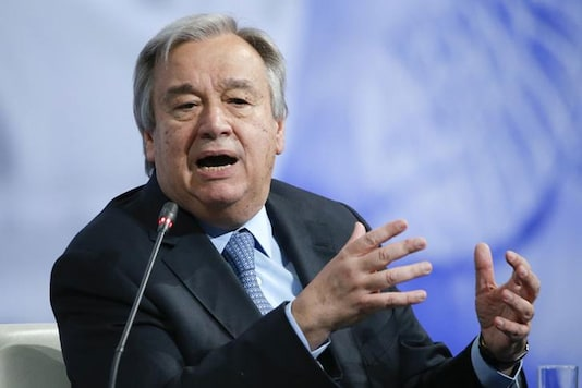 File photo of United Nations Secretary-General Antonio Guterres. (Photo: Reuters)