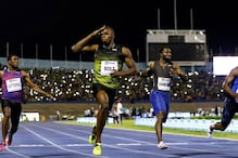 Usain Bolt Wins Last 100 Metres Sprint on Home Turf
