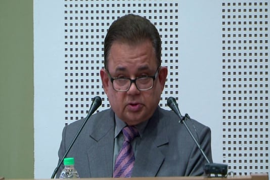 File photo of Justice Dalveer Bhandari. (Photo: YouTube grab)