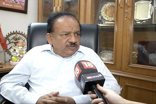 Dr Harsh Vardhan (File photo)