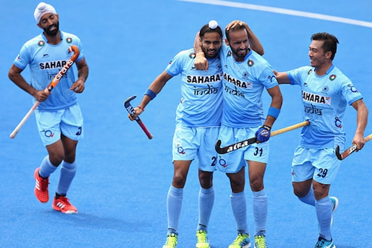 A file photo of the Indian hockey team. (Getty Images)
