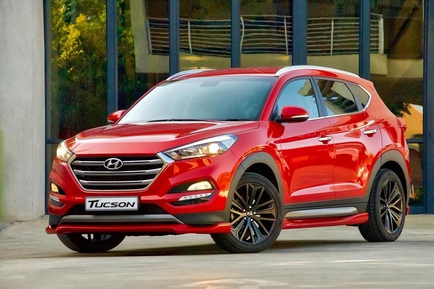 Hyundai Tucson Sport front profile. (Image: Hyundai)