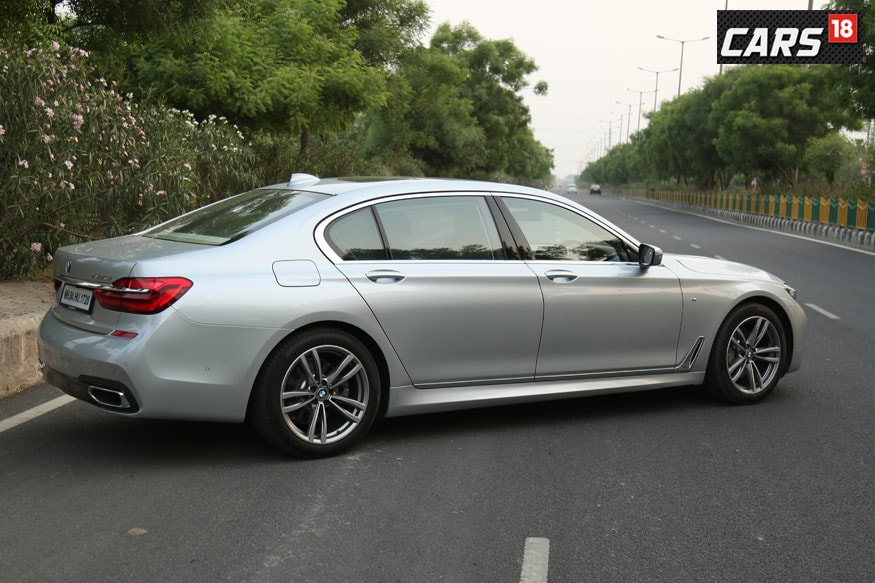 BMW 7-Series Rear 3/4th Profile. (Photo: Siddharth Safaya/Cars18.in)