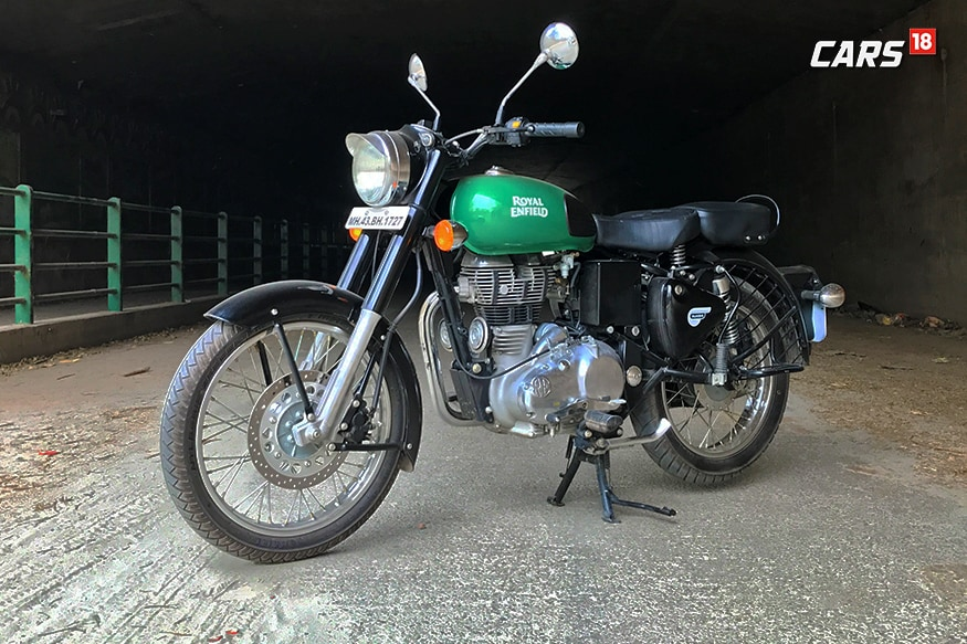 Royal Enfield Classic 350. (Photo: Soddharth Safaya/News18.com)
