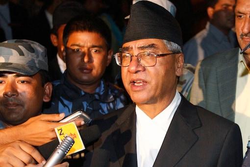 File photo of Nepal PM Sher Bahadur Deuba.(REUTERS)