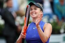 French Open: Elina Svitolina Edges Petra Martic To Enter Last 8