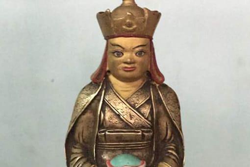 File photo of 900-year-old Antique Buddha idol.