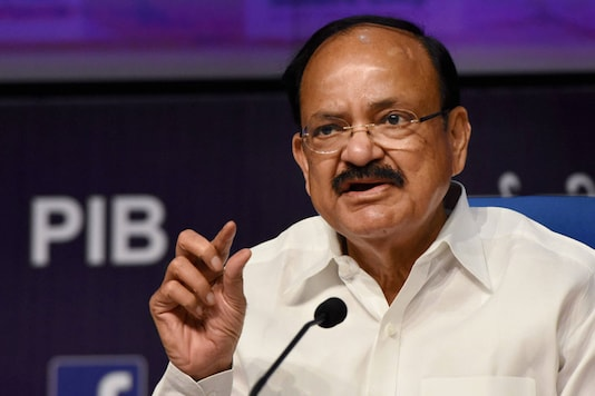 File photo of Vice President Venakaiah Naidu. (PTI)