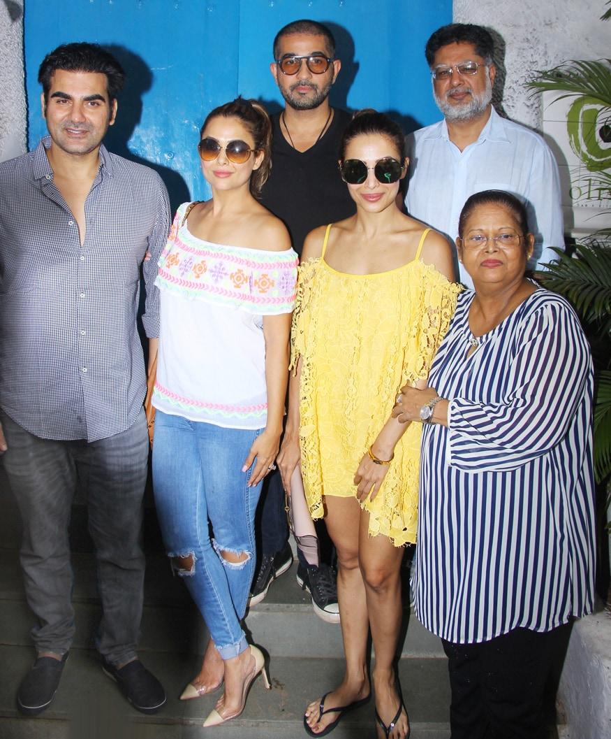 Malaika Arora Khan Family