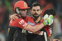 Virat Kohli and AB de Villiers to Auction Bats Used in Record Partnership Against Gujarat Lions in 2016