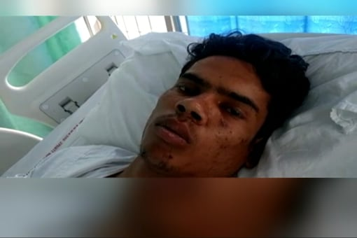 Victim Junaid's brother Shakir said their attackers kept alleging that they were carrying beef, but it wasn't true. (TV grab/ Network18)