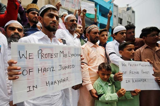 Fifteen-year-old Junaid was stabbed multiple times by a mob on a Delhi-Mathura train in Ballabgarh, Haryana on June 24. (Image: Reuters)