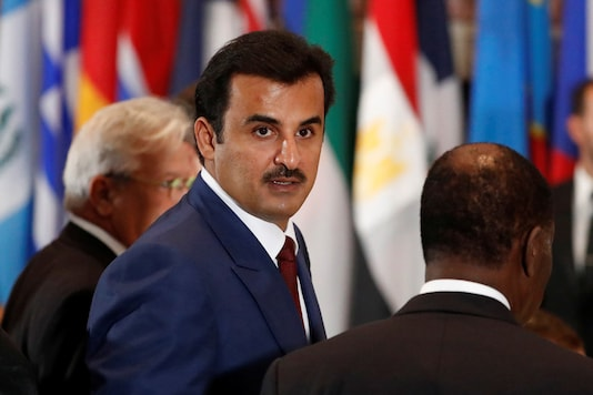 File photo of Emir of Qatar, Tamim bin Hamad Al Thani. (Reuters)