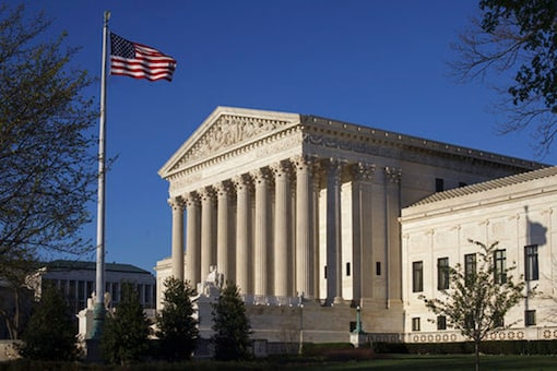 File photo of the Supreme Court Building is seen in Washington. (Image: AP)