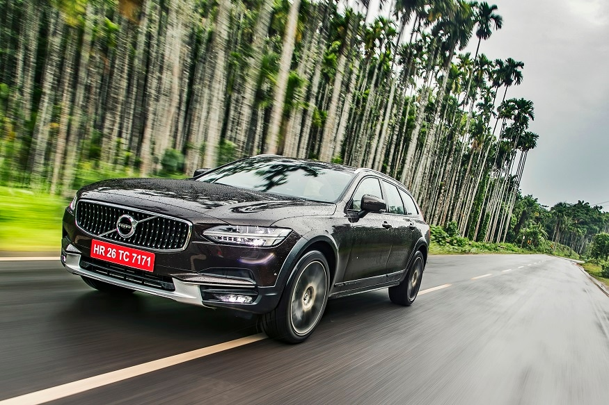 Volvo V90 Cross Country In Picturesque Location Of Coorg. (Image: Volvo India)
