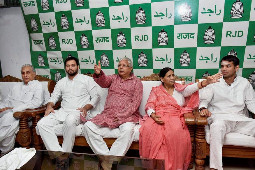 BJP Government Wants to 'Kill' Lalu Prasad Yadav by Poisoning, Claims Rabri Devi