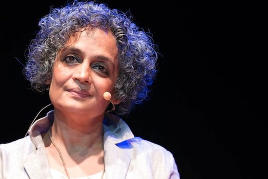 File photo of Arundhati Roy. (Image courtesy: AP)