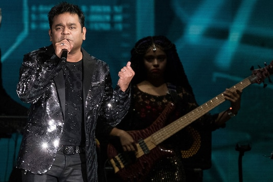 A. R. Rahman performs at the 2017 International Indian Film Academy Festival's IIFA Rocks at MetLife Stadium on Saturday, July 15, 2017, in East Rutherford, N.J. (Image: AP)