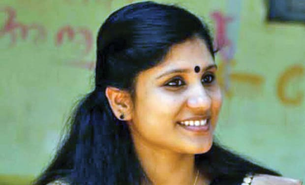 Deepa Nishanth is a lecturer in the Thrissur-based Kerala Varma College.