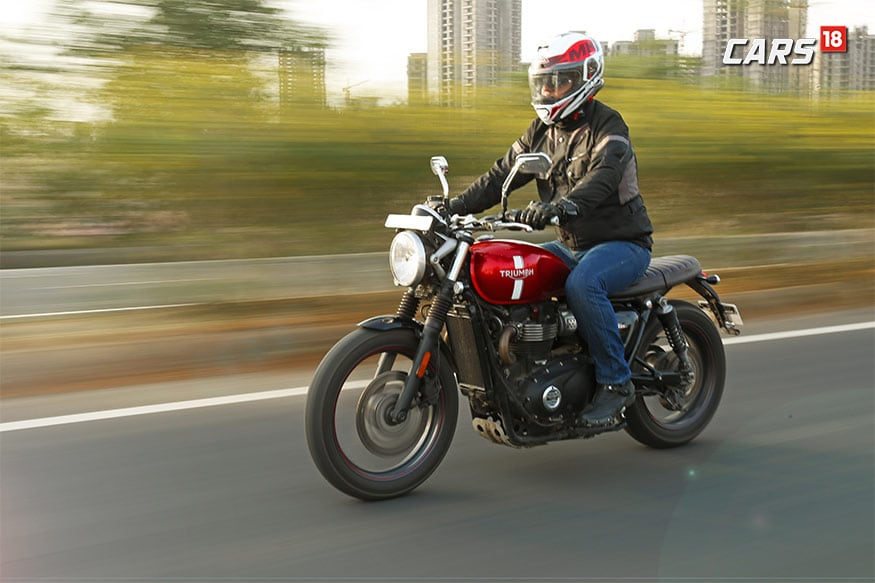 Triumph Street Twin. (Photo: Siddharth Safaya/News18.com)