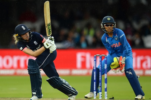 Sarah Taylor was the star with the bat for England. (Getty Images)