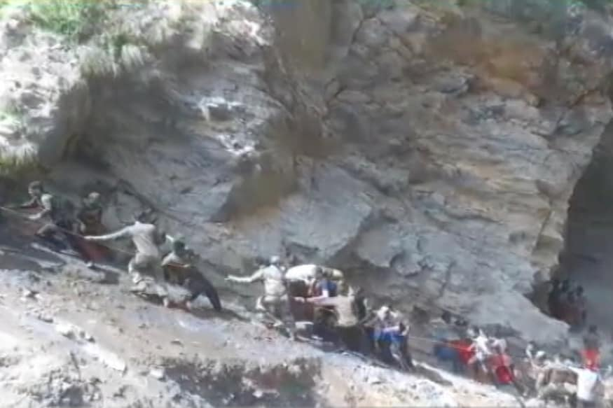 Teenager Killed and One Injured after Motorcycle Plunged into Gorge in J&K's Doda