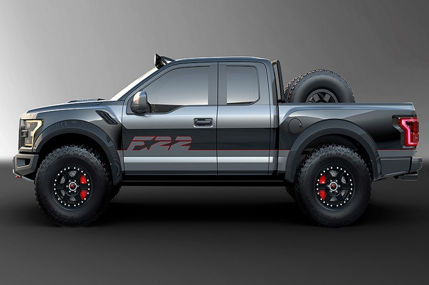 Ford's one of a kind F-22 Raptor F-150. (Image: AFP Relaxnews)