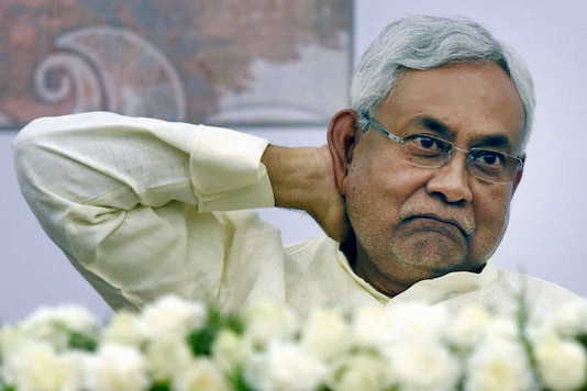 File photo of Bihar Chief Minister Nitish Kumar.  (PTI)