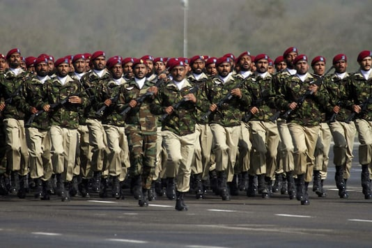 File photo of the Pakistan military. (Getty Images)