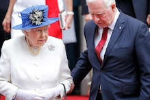 Did He Just Touch The Queen of England? Yes, He Did
