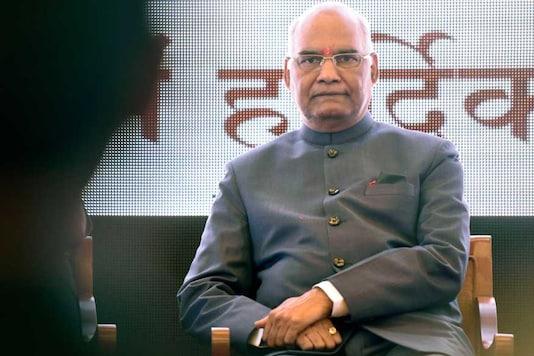 File photo of President Ram Nath Kovind. (Getty Images)