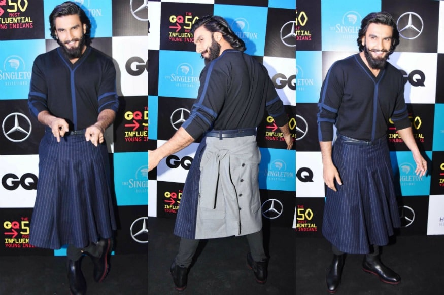 (Photo: Actor Ranveer Singh at GQ India 50 Most Influential Young Indians Awards/Yogen Shah)