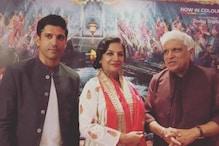 Privilege To Share Stage With Javed Akhtar, Shabana Azmi: Farhan Akhtar