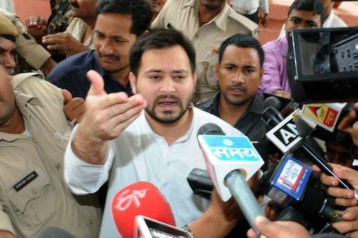 File photo of RJD leader Tejashwi Yadav.