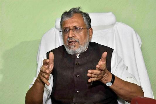 File Photo of Sushil Kumar Modi.