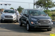 Ford Ecosport Facelift Spotted, Looks Revealed