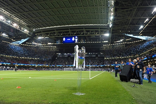 File image of the Champions League trophy. (Getty Images)