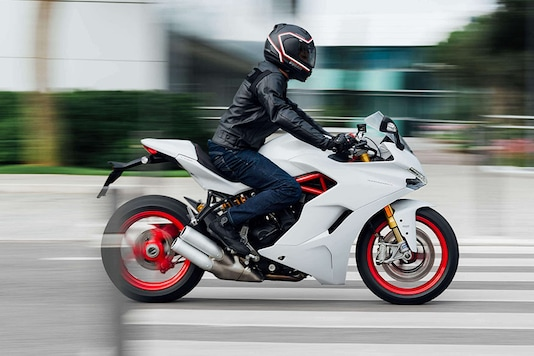 Ducati SuperSport S. (Photo Courtesy: Ducati India)