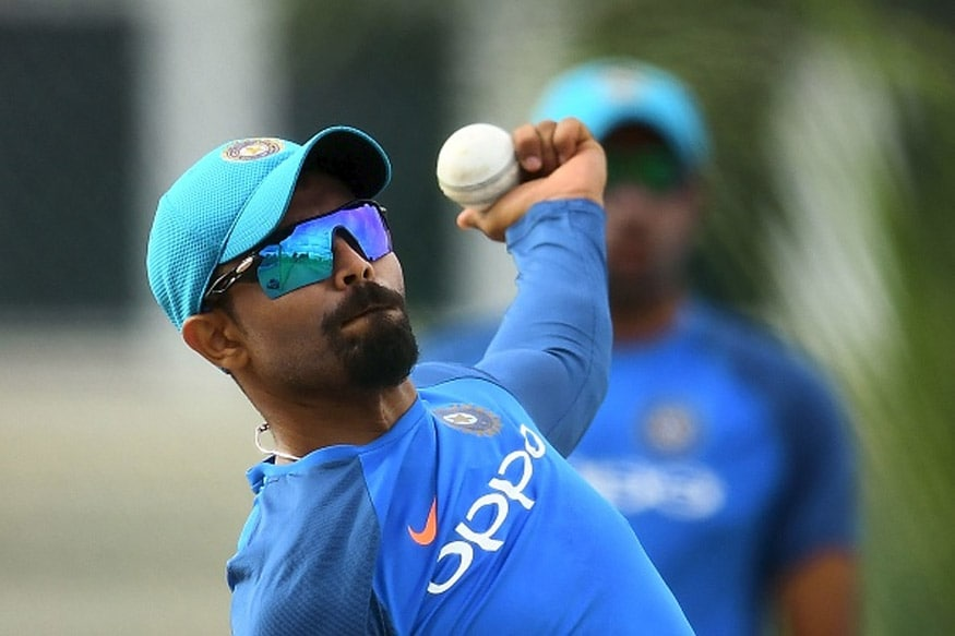 File image of India all-rounder Ravindra Jadeja during practice. (Getty Images)